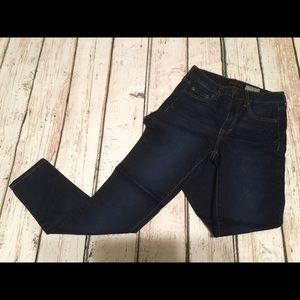 Aeropostale Dark Denim Jegging 2 Short High Waist